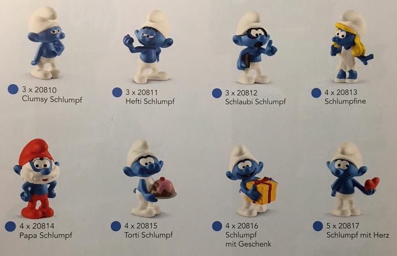 Schleich Smurfs HEFTY SMURF 20811 *NEW* 2019 -